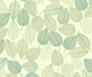 wallpaper, leaves, and green image