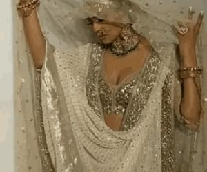 gif, bollywood, and dress image