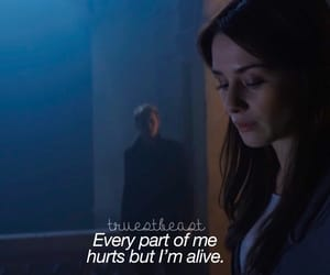 blue, fallen, and hurts image