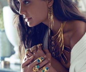 belleza, collar, and moda image