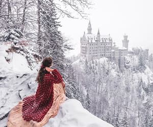 aesthetic, castle, and explore image