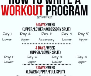 How to write a workout program