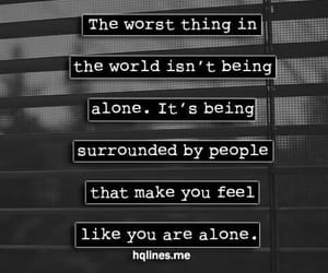 alone, quotes, and people image