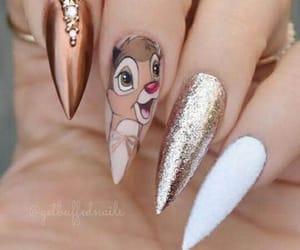bambi, disney, and nails image
