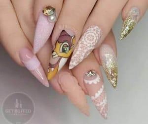 bambi and nails image