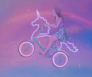 Dream, purple, and girl image