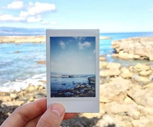 beach, ocean, and picture image