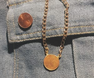 cent, coin, and jewelry image