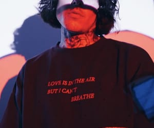 aesthetic, bmth, and oli sykes image