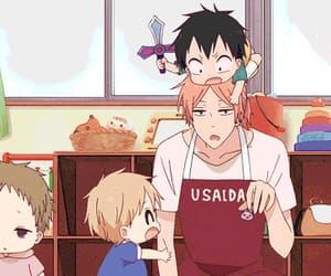 anime, gif, and gakuen babysitters image