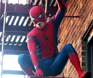 homecoming, movie, and spider man image