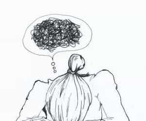 confused, feel, and feelings image