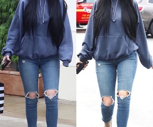 beauty, casual, and denim image