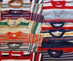shirts, stripes, and vintage image