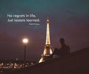 eiffel tower, life, and quotes image