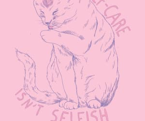 cats, feeling, and pastel image