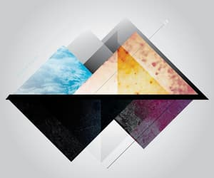 art, artwork, and blue image