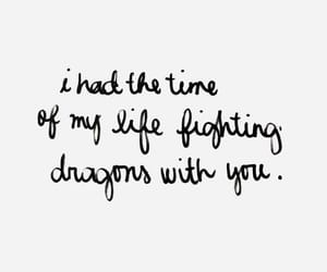 dragons and quote image