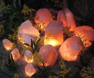 crystal, light, and stone image