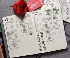aesthetic, notes, and planner image