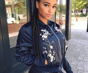 black women, hair, and melanin image