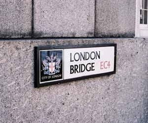 vintage, bridge, and london image