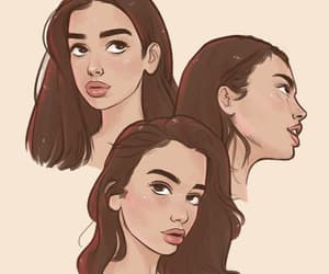 dua lipa and art image
