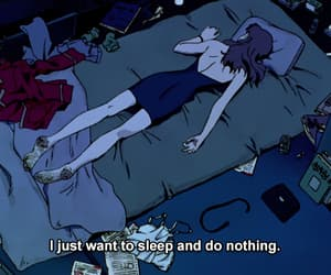 evangelion, sleep, and nge image