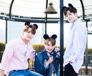 mingyu, rowoon, and jungwoo image
