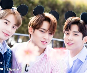 mingyu, Seventeen, and jungwoo image