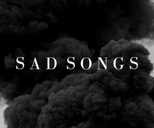 article, sad songs, and playlist image