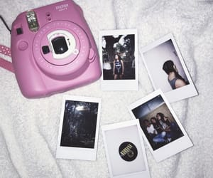 girl, grunge, and instax image