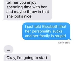 Elizabeth, funny, and pride and prejudice image