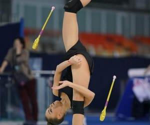 clubs, dina averina, and rhytmic gymnastic image