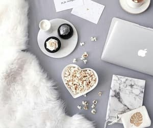 coffee, cozy, and white image