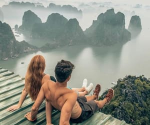 travel, view, and love image