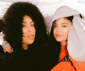 kylie jenner, jordyn woods, and kylie image