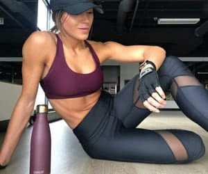 exercise, goals, and gym image
