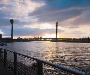 bridge, dusseldorf, and germany image