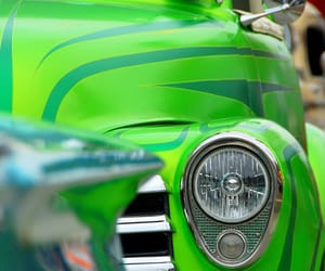 bright, lime, and cars image