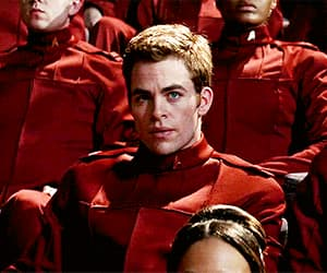 actor, chris pine, and funny face image