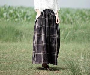 black pants, blue pants, and etsy image