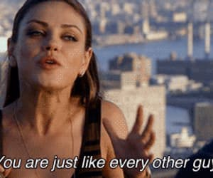 guy, quotes, and Mila Kunis image