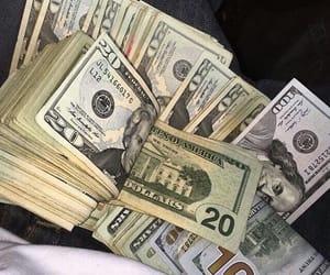 money, green, and mula image