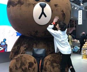 asian, bear, and big bear image