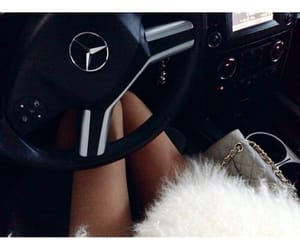 car, luxury, and women image