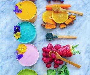 breakfast, colors, and orange image
