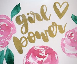 art, day, and girl power image