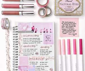article, journal, and pink image