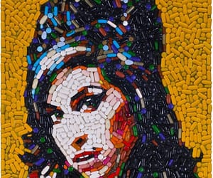 amy, art, and cigarette image